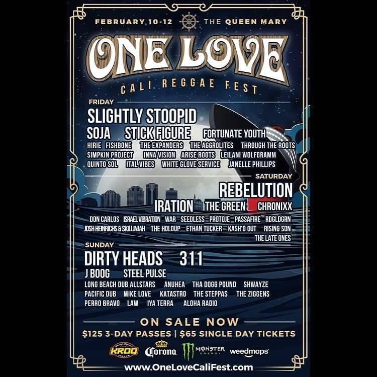 Aloha Radio Performs at One Love Cali Fest